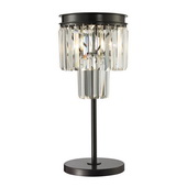 Oil Rubbed Bronze Table Lamp - MEK2221