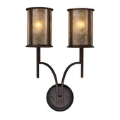 Aged Bronze Wall Sconce - MEK4204