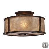 Aged Bronze Semi Flush - MEK4206
