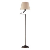 Aged Bronze Floor Lamp - MEK2224