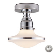 Polished Chrome Semi Flush - MEK4310