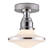 Polished Chrome Semi Flush - MEK4309