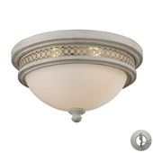 Antique White Flushmount - MEK4505