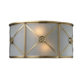 Brushed Brass Wall Sconce - MEK4568