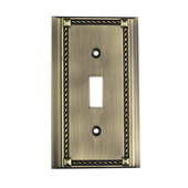 Antique Brass Clickplate - MEK4623