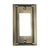 Antique Brass Clickplate - MEK4627