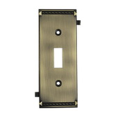 Antique Brass Clickplate - MEK4635