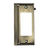 Antique Brass Clickplate - MEK4651