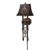 Dark Rust Wall Sconce - MEK4682