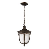 Weathered Rust Outdoor Pendant - MEK4690