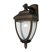 Weathered Rust Outdoor Sconce - MEK4692
