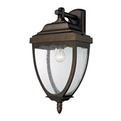 Weathered Rust Outdoor Sconce - MEK4693