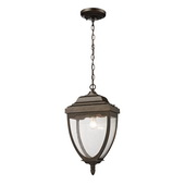Weathered Rust Outdoor Pendant - MEK4694