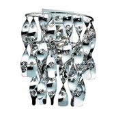 Polished Chrome Wall Sconce - MEK4702