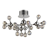 Polished Chrome Semi Flush - MEK4715