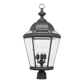 Charcoal Outdoor Post Light - MEK4723