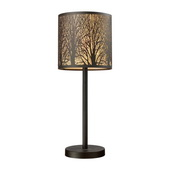Aged Bronze Table Lamp - MEK2229