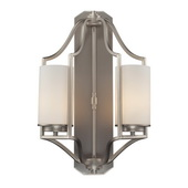 Matte Nickel Wall Sconce - MEK4955
