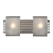 Brushed Nickel Bathbar - MEK5099