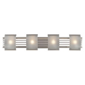Brushed Nickel Bathbar - MEK5101
