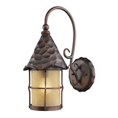 Antique Copper Outdoor Sconce - MEK5263