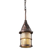 Antique Copper Outdoor Pendant - MEK5265