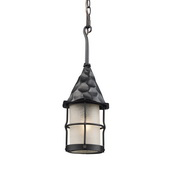 Matte Black Outdoor Pendant - MEK5266