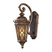 Hazlenut Bronze Outdoor Sconce - MEK5403