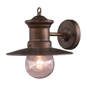 Hazlenut Bronze Outdoor Sconce - MEK5408