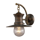 Hazlenut Bronze Outdoor Sconce - MEK5409