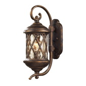 Hazlenut Bronze Outdoor Sconce - MEK5411
