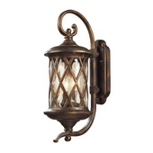 Hazlenut Bronze Outdoor Sconce - MEK5412