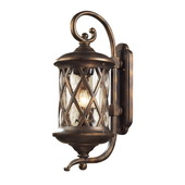 Hazlenut Bronze Outdoor Sconce - MEK5413