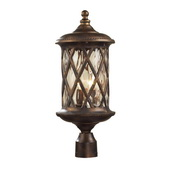 Hazlenut Bronze Outdoor Post Light - MEK5415