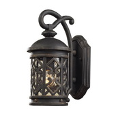 Weathered Charcoal Outdoor Sconce - MEK5419