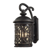 Weathered Charcoal Outdoor Sconce - MEK5420