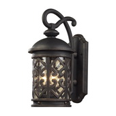 Weathered Charcoal Outdoor Sconce - MEK5421