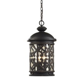 Weathered Charcoal Outdoor Pendant - MEK5422