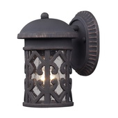 Weathered Charcoal Outdoor Sconce - MEK5424