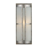 Sunset Silver Outdoor Sconce - MEK5427