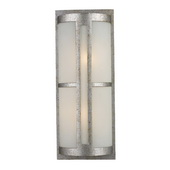 Sunset Silver Outdoor Sconce - MEK5428