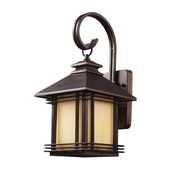 Hazlenut Bronze Outdoor Sconce - MEK5429