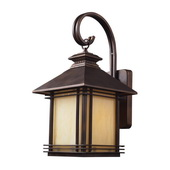 Hazlenut Bronze Outdoor Sconce - MEK5430