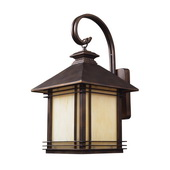 Hazlenut Bronze Outdoor Sconce - MEK5431