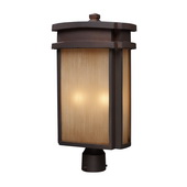 Clay Bronze Outdoor Post Light - MEK5440