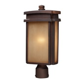 Clay Bronze Outdoor Post Light - MEK5441