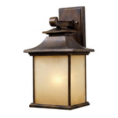 Hazlenut Bronze Outdoor Sconce - MEK5448