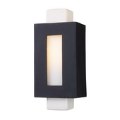 Matte Black Outdoor Sconce - MEK5452