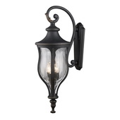 Weathered Charcoal Outdoor Sconce - MEK5455