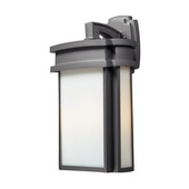 Graphite Outdoor Sconce - MEK5473
